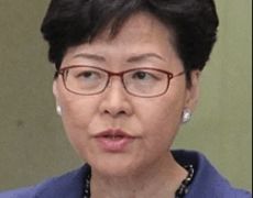 Hong Kong leader Carrie Lam says the extradition bill is 'dead'