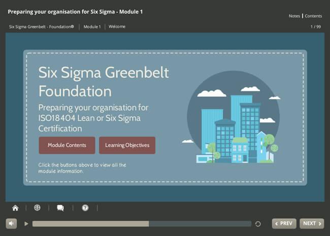 ISO 18404 Lean & Six Sigma: Preparing Your Organization Screenshot 5