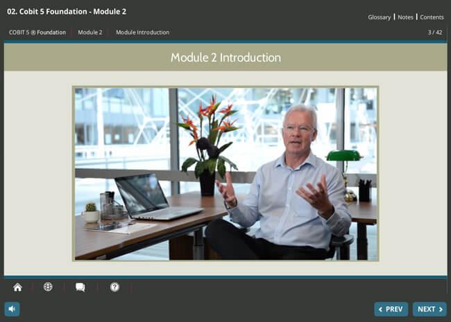 COBIT® 5 Foundation Screenshot 4