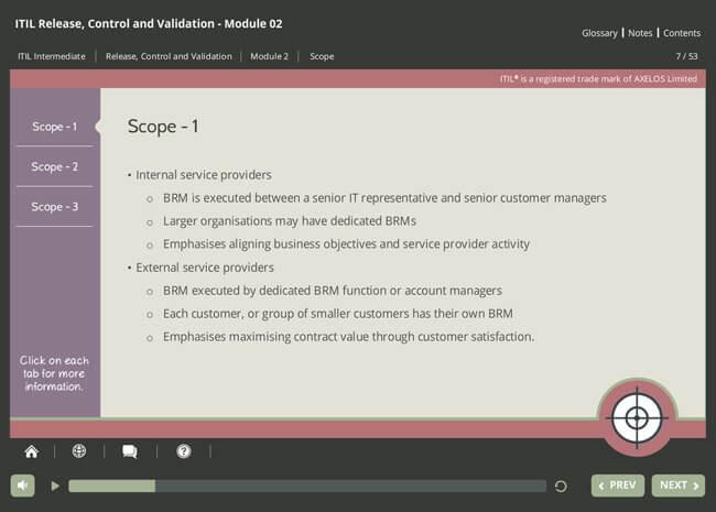 ITIL® Release, Control & Validation (RCV) Screenshot 6