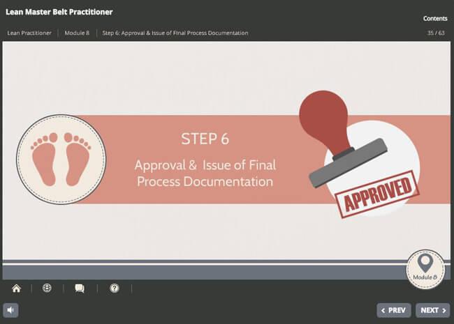 Lean Master Belt Practitioner (level 1 & 2) Screenshot 3