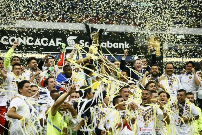 América Campeón de Concachampions.
