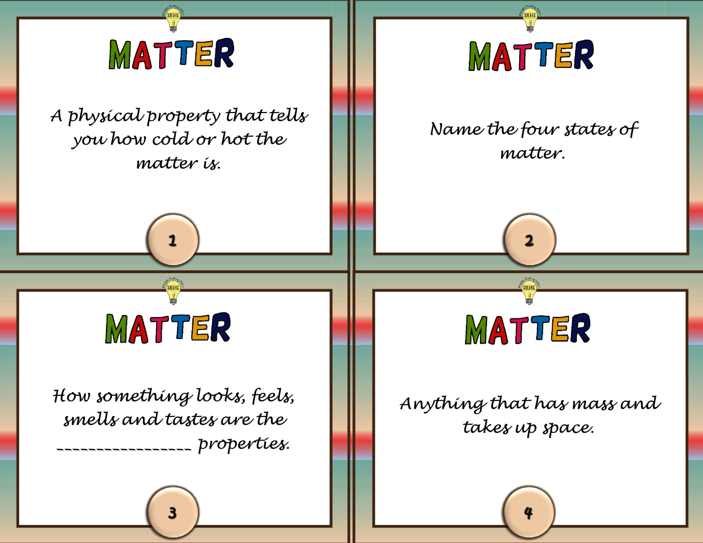 Structure And Properties Of Matter