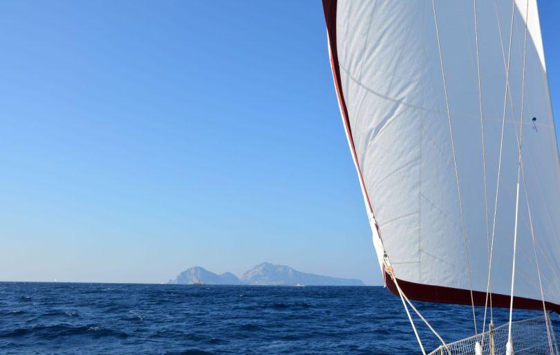En route pour Capri.