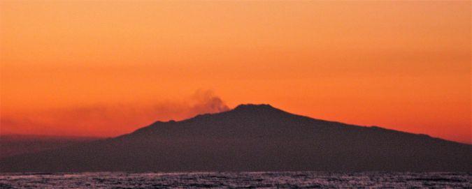 L'Etna vue du large