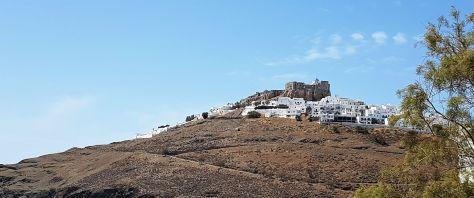 Au sommet de la Chora, la citadelle vénitienne.