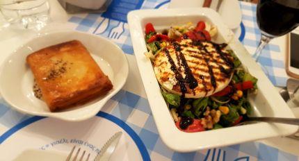Très bon dîner à Kassos