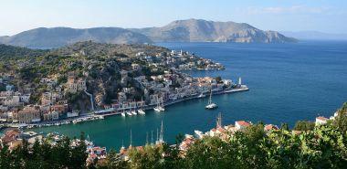 Le port vue du haut de la ville