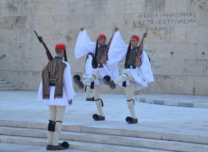 Relève de la garde Athènes 2020