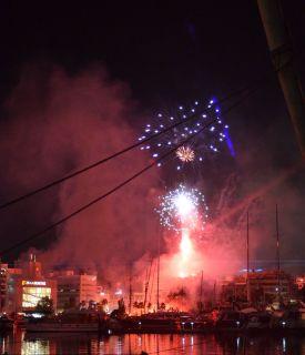 Fête de célébration de l'Olympiakos, champion de Grèce Athènes 2020