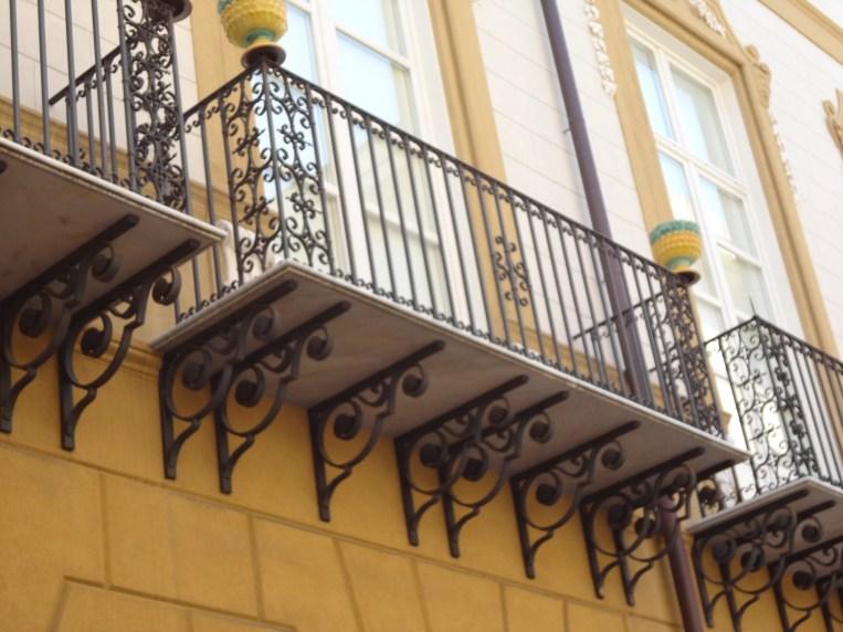 Sicile - Balcons de Palerme