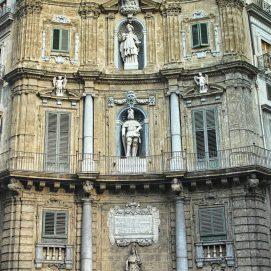 Quattro Canti, façade Sud-Est Sicile - Palerme