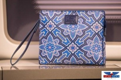 LONDON, UK: New First washbag by Liberty, photographed at London Heathrow on 23 June 2017 (Picture by Nick Morrish/British Airways)