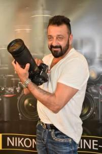 Sanjay Dutt with Nikon D5