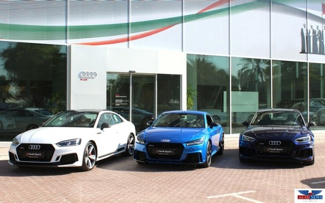 Ali & Sons Audi reveals new RS models in Abu Dhabi and Al Ain