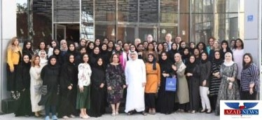 YBA Kanoo Celebrates Bahraini Womens Day - Group Photo