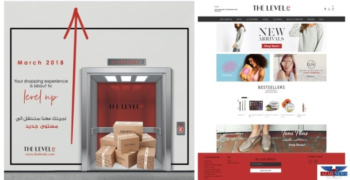 THELEVELe, Fashion & Beauty E-Commerce Site Goes Live In