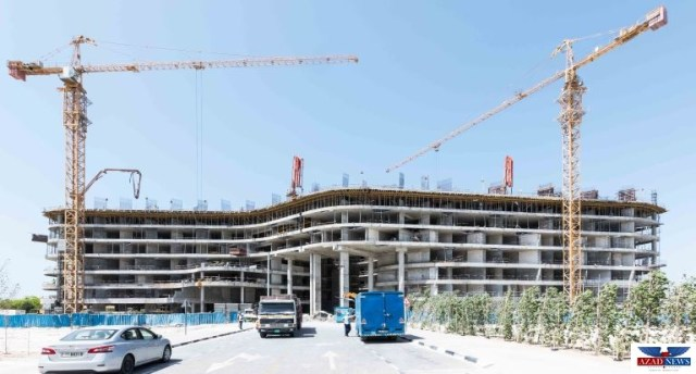 Azizi Developments delivers construction update on AED 780mn project on Palm Jumeirah – Mina by Azizi