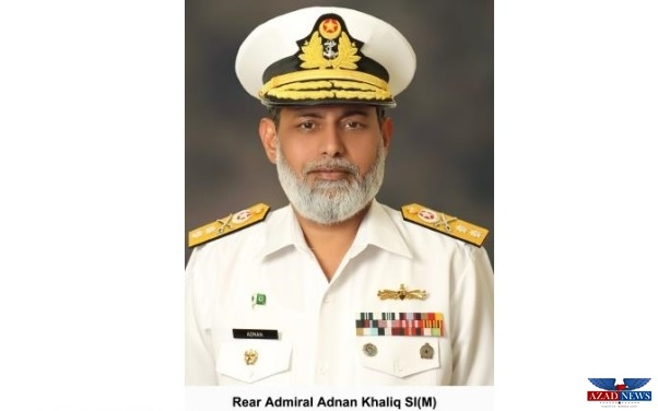 COMMODORE ADNAN KHALIQ OF PAKISTAN NAVY PROMOTED TO THE RANK OF REAR ADMIRAL