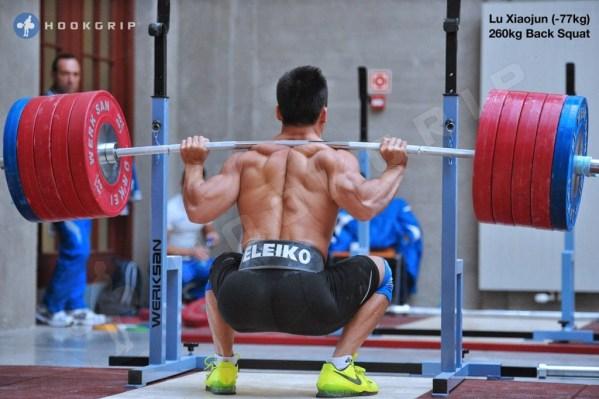 back squat 2