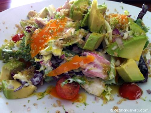 petit comite quinoa avocado salad
