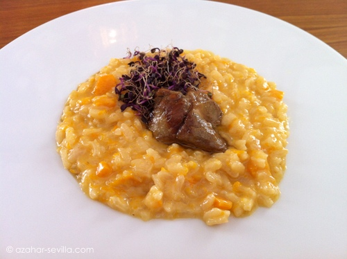 petit comite risotto duck foie