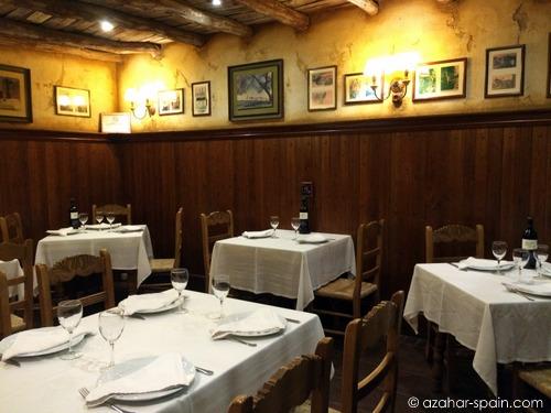 cumbres mayores dining
