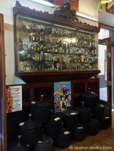 la manzanilla bottles