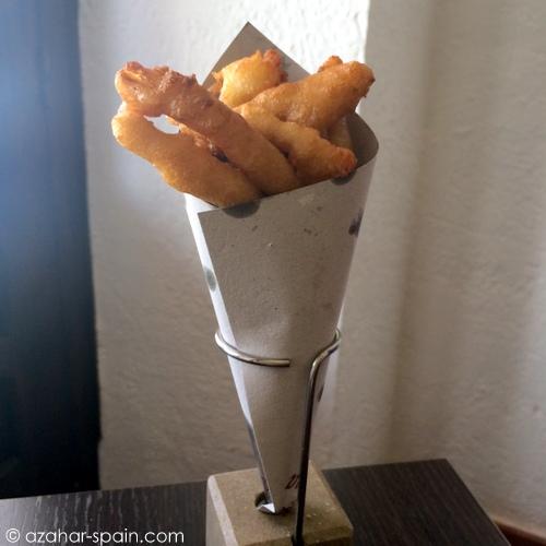 arte tapas fried fish
