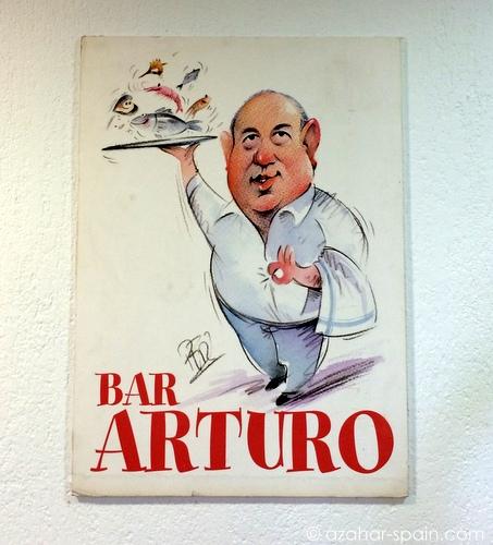bar arturo sign