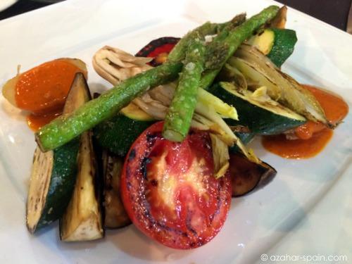 albores grilled veg