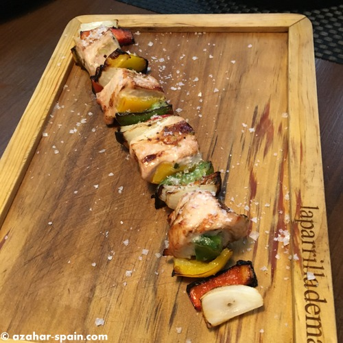 parrilla mane chicken brochette