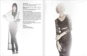 Emily Payne (Project Runway) for Dark Beauty Magazine