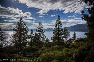 Tahoe Lake area, California