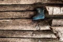 Detalle Infantil Palafito en el Delta del Orinoco