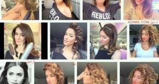 سارة أنغيس، تسريحات شعر