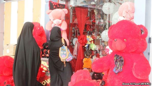 النجف عشية عيد الحب2