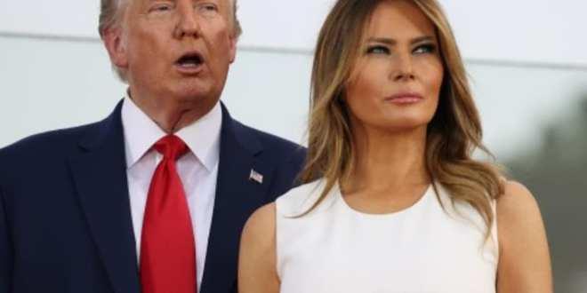 ترامب وزوجته