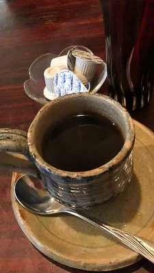 勝政ランチコーヒー