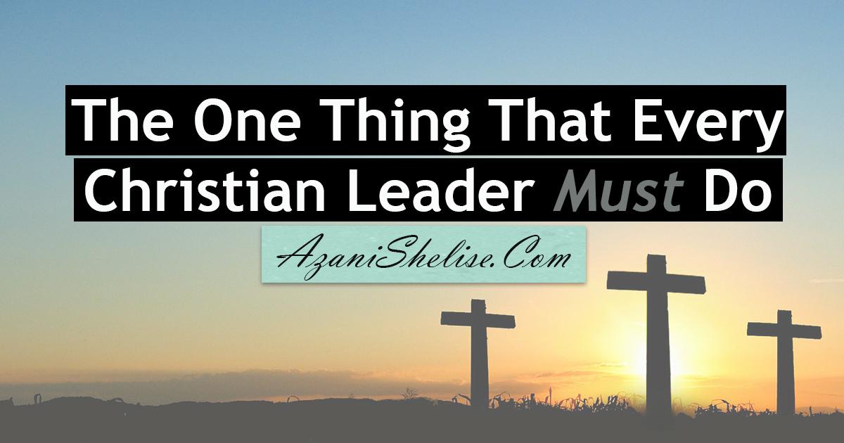 Christian Leader