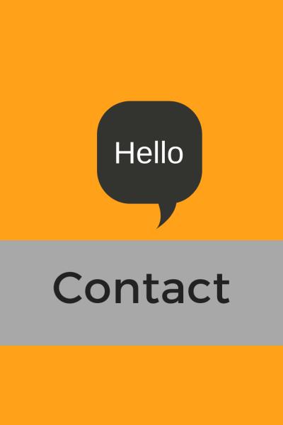 Contact button - The pursuit blog
