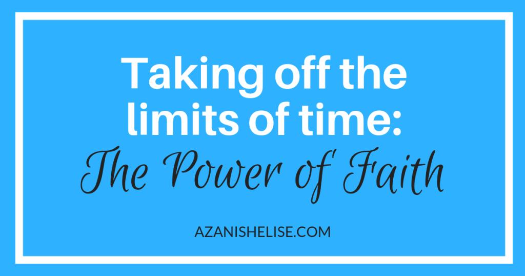 Power of Faith Blog - Graphic