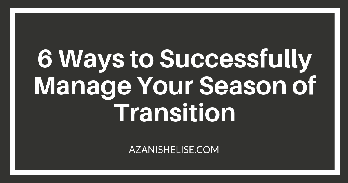 seasons of transition