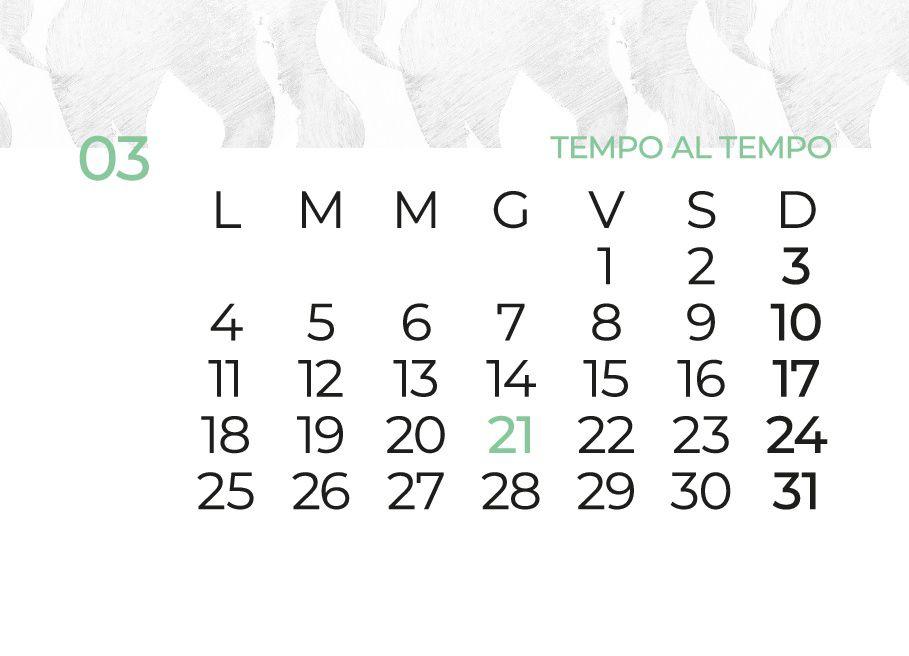 Parole Di Vita Calendario 2019.Azar Comunicazione Presenta Tempo Al Tempo Calendario 2019