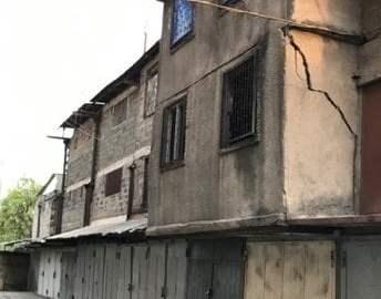 Երեք հարկանի շինության արտաքին պատը թուլացել է․ փրկարարները սահմանազատել են տարածքը