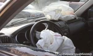 Երևան-Սևան ճանապարհին Priora-ն բախվել է բեռնատարին․ Priora-ի վարորդը տեղում մահացել է