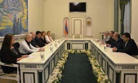 Արթուր Դավթյանն ընդունել է Խորվաթիայի Գերագույն դատարանի նախագահի գլխավորած պատվիրակությանը