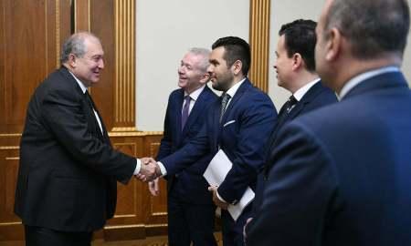 Նախագահ Սարգսյանն ընդունել է իտալական Confindustria Russia կազմակերպության պատվիրակությանը (ՏԵՍԱՆՅՈւԹ)