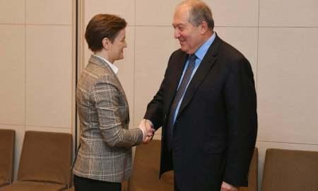 Արմեն Սարգսյանը Ճապոնիայում հանդիպել է Սերբիայի վարչապետին