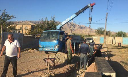 Երասխ համայնքում պետական տարբեր ծրագրերով իրականացվում են շինարարական մեծածավալ աշխատանքներ․ Գարիկ Սարգսյան